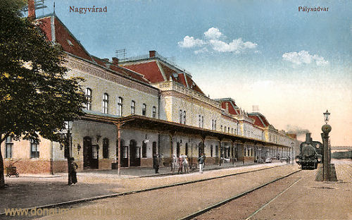 Großwardein (Nagyvárad), Pályaudvar (Bahnhof)