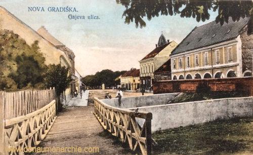 Neu-Gradiska (Nova Gradiška), Gajeva ulica (Gajevastraße)