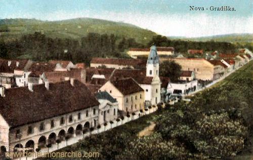 Neu-Gradiska (Nova Gradiška), Stadtansicht
