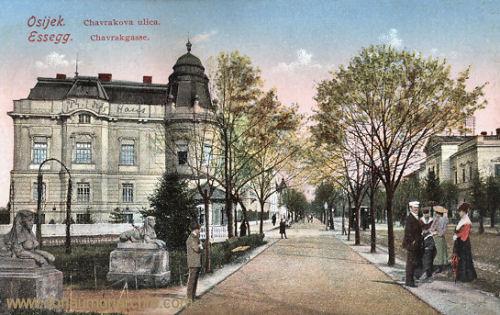 Essegg (Osijek), Chavrakgasse