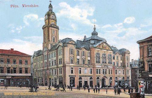 Fünfkirchen (Pécs), Városháza (Rathaus)
