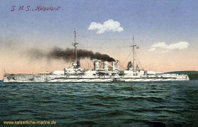 S.M.S. Helgoland, Linienschiff