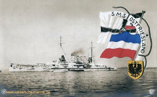 S.M.S. Ostfriesland, Linienschiff