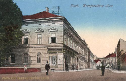 Sissek (Sisak), Kranjčevićeva ulica