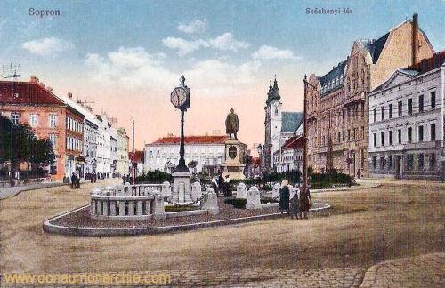 Ödenburg (Sopron), Széchenyi tér