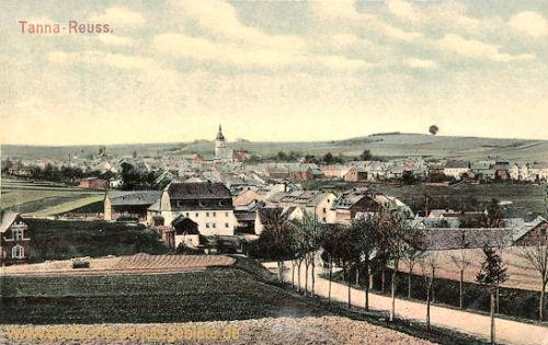 Tanna-Reuss, Stadtansicht