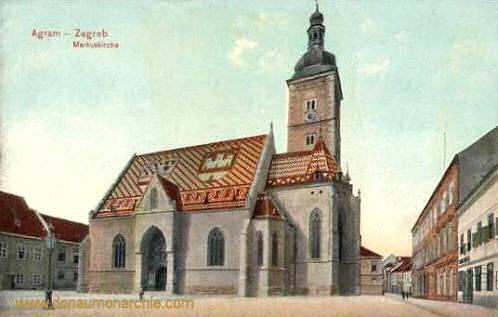 Agram (Zagreb), Markuskirche