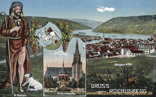 Bingen, Gruß vom Rochusberg