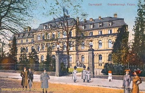 Darmstadt, Großherzogliches Palais