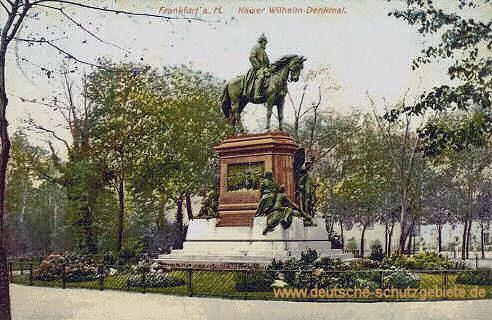 Frankfurt a. M., Kaiser Wilhelm-Denkmal
