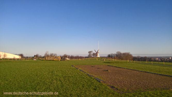 Fundament des 1945 gesprengten Düppeldenkmals