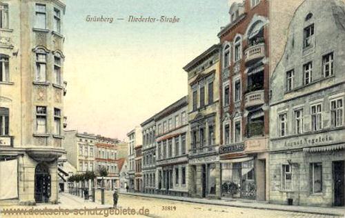 Grünberg, Niedertorstraße