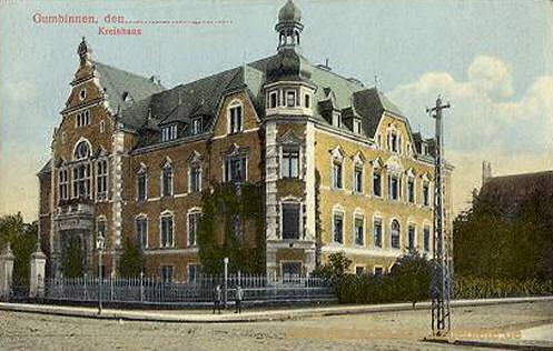 Gumbinnen, Kreishaus