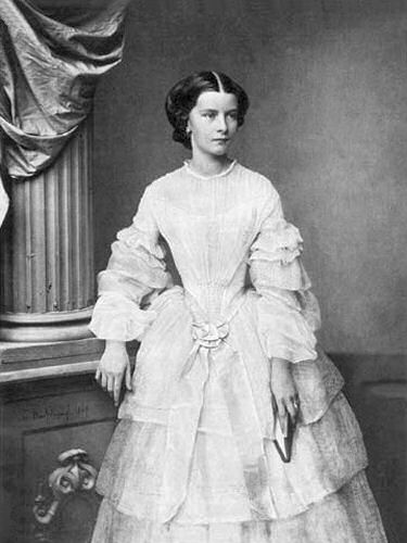 Kaiserin Elisabeth, 1857