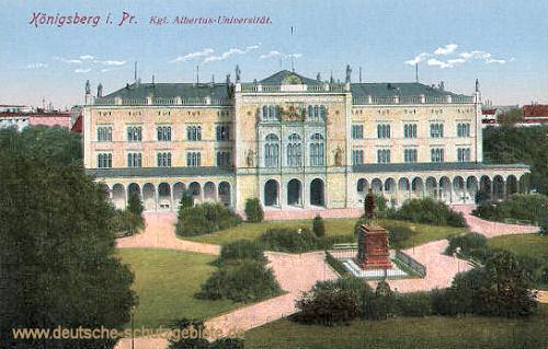 Königsberg i. Pr., Königliche Albertus Universität