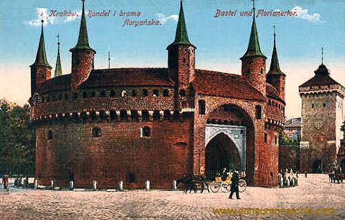 Krakau, Bastei und Florianer Tor