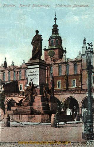 Krakau, Mickiewicz-Monument
