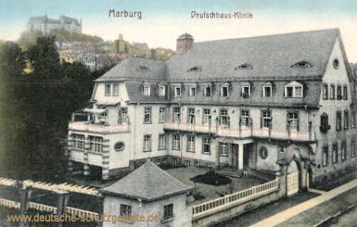 Marburg a. d. Lahn, Deutschhaus-Klinik