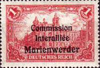 Marienwerder, Commisson Interalliée 1920