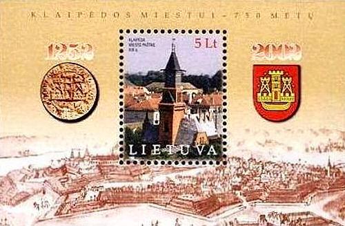 Memel - Kleipeda, 750 Jahre
