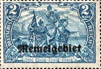 Memelgebiet, 1920
