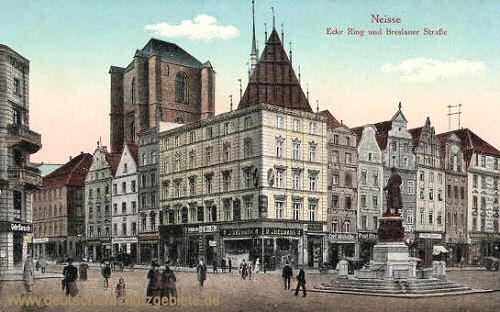 Neisse, Ecke Ring und Breslauer Straße