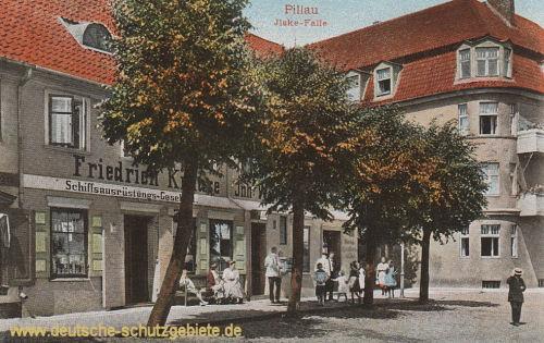 Pillau, Ilske-Falle