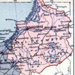 Provinz Ostpreußen, Landkarte 1914