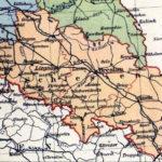 Schlesien, Landkarte 1900