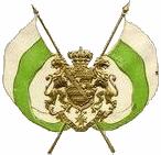 Sachsen, Fahne und Wappen