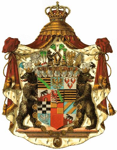 Herzogtum Anhalt, Großes Staatswappen