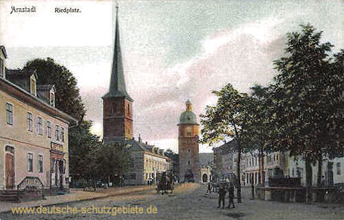 Arnstadt, Riedplatz