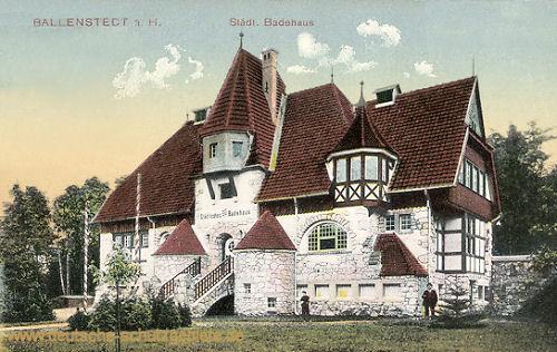 Ballenstedt, Städtisches Badehaus
