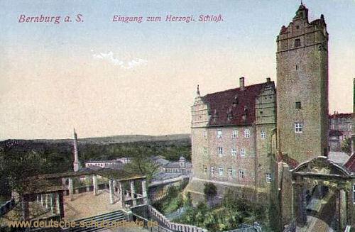 Bernburg, Herzogliches Schloss