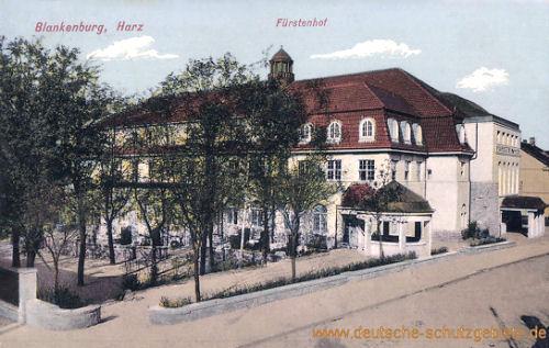 Blankenburg Harz, Fürstenhof