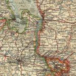 Bremen, Karte 1900