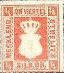 1/4 Silbergroschen, Großherzogtum Mecklenburg-Strelitz