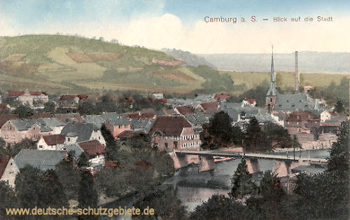 Camburg a. S., Blick auf die Stadt