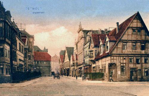 Detmold, Langenstraße
