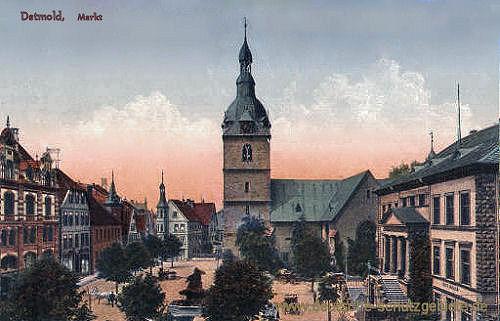 Detmold, Markt