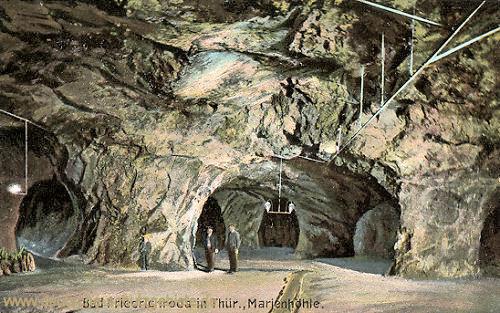 Friedrichroda, Marienglashöhle