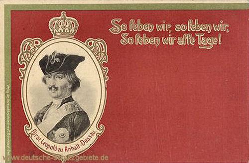 Fürst Leopold zu Anhalt-Dessau