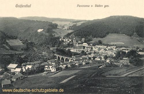 Gräfenthal, Panorama von Süden gesehen