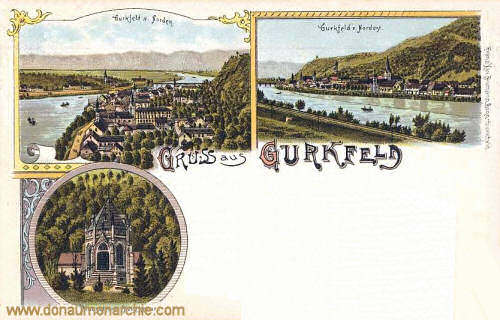 Gurkfeld, Gurkfeld von Norden