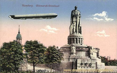Hamburg, Bismarck-Denkmal