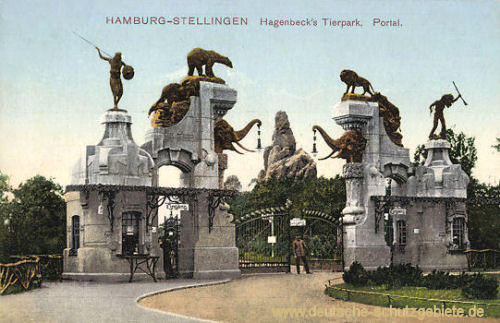 Hamburg Hagenbecks Tierpark, Portal