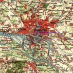 Hamburg und Umgebung, Karte 1912