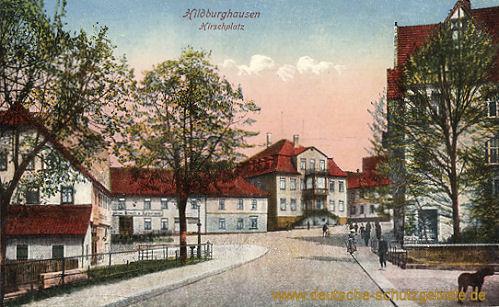 Hildburghausen, Hirschplatz