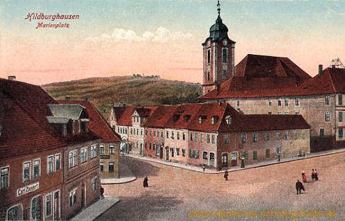 Hildburghausen, Marienplatz