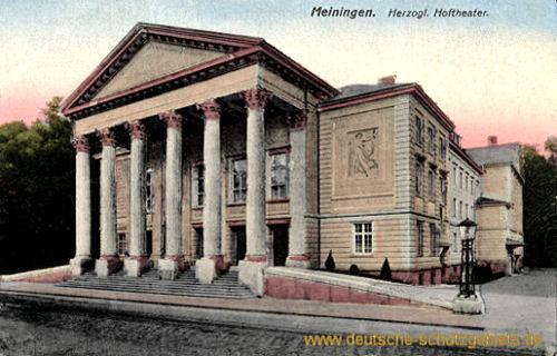 Meiningen, Herzogliches Theater